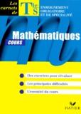 Jean-Dominique Picchiottino - Mathématiques terminale S. - Cours.