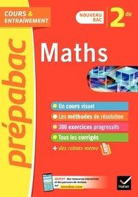 Jean-Dominique Picchiottino - Maths 2de - Prépabac Cours & entraînement - nouveau programme de Seconde.