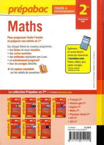 Maths 2de  Edition 2019-2020