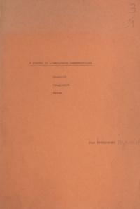 Jean Dourojeanni - À propos de l'explosion démographique - Quantité, complexité, novum.