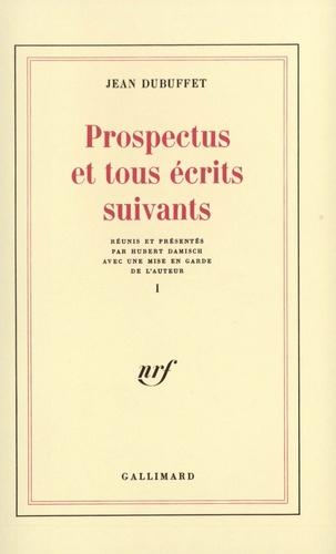 Jean Dubuffet - Prospect et tous.