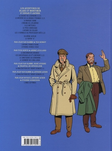 Les aventures de Blake et Mortimer Tome 22 L'onde septimus