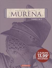 Jean Dufaux - Murena Coffret en 2 volumes : Tome 1, La pourpre et l'or ; Tome 2, De sable et de sang.