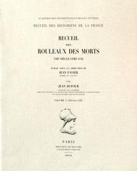 Corridashivernales.be Recueil des rouleaux des morts (VIIIe siècle-vers 1536) - Volume 4 (1453-1536) Image