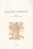 Jean Dupèbe et Franco Giacone - Esculape et Dionysos - Mélanges en l'honneur de Jean Céard.