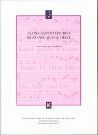 Jean Duron - Plain-chant et liturgie en France au XVIIe siècle.