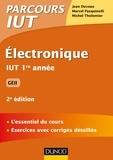 Jean Duveau et Marcel Pasquinelli - Electronique IUT 1re année GEII.
