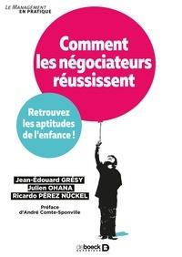 Deedr.fr Comment les négociateurs réussissent - Retrouvez les aptitudes de l'enfance! Image