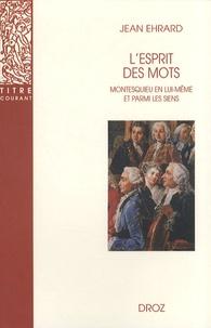 Openwetlab.it L'esprit des mots - Montesquieu en lui-même et parmi les siens Image