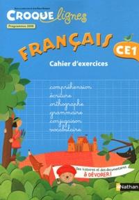 Jean-Emile Gombert - Français CE1 - Cahier d'exercies, programmes 2008.