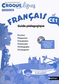 Jean-Emile Gombert - Français CE1 - Guide pédagogique, programmes 2008. 1 Cédérom