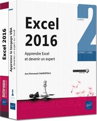 Excel 2016 : apprendre Excel et devenir un expert- 2 volumes - Jean-Emmanuel Chapartegui | Showmesound.org