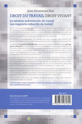 Droit du travail, droit vivant  Edition 2020