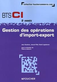 Jean Escolano et Jaouad Filali - Gestion des opérations d'import-export BTS CI 2e année.