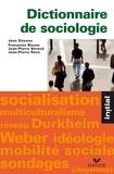 Jean Etienne et Françoise Bloess - Initial - Dictionnaire de sociologie.