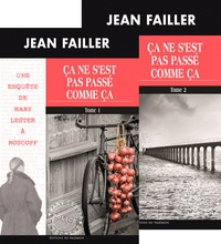 Jean Failler - Les enquêtes de Mary Lester Tomes 48 - 49 : Ca ne s'est pas passé comme ça - Tomes 1 et 2.