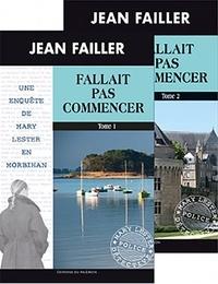 Jean Failler - Les enquêtes de Mary Lester Tomes 51 - 52 : Fallait pas commencer - Tomes 1 et 2.