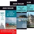 Jean Failler - Pack en 3 volumes Les enquêtes de Mary Lester - C'est la faute du vent ; Fallait pas commencer Tome 1 et 2.