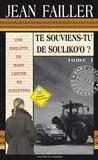 Jean Failler - Te souviens-tu de Souliko'o ?, pack en 2 volumes : tomes 1 et 2.