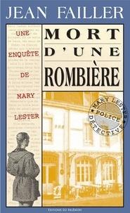 Jean Failler - Une enquête de Mary Lester Tome 11 : Mort d'une rombière.
