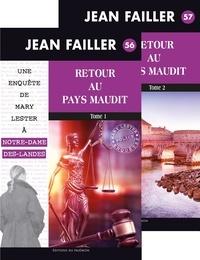 Jean Failler - Une enquête de Mary Lester Tomes 56 et 57 : Retour au pays maudit - 2 volumes.