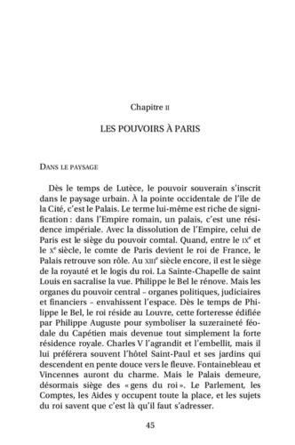 Le bourgeois de Paris au Moyen Age