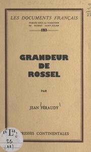 Jean Féraudy et Hubert Saint-Julien - Grandeur de Rossel.