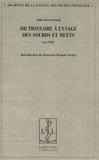 Jean Ferrand - Dictionnaire à l'usage des sourds et muets.