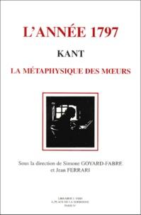 Lannée 1797 : Kant. - La métaphysique des moeurs.pdf
