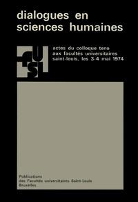 Jean Florence et Alphonse deWaelhens - Dialogues en sciences humaines.
