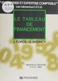 Jean Force et Ginette Broncy - Le Tableau de financement.