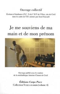 Jean Foucault - Je me souviens de ma main et de mon prénom.