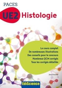 PACES UE2 Histologie - Jean Foucrier - Format PDF - 9782100770274 - 16,99 €