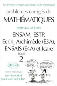 Deedr.fr Problèmes corrigés de mathématiques posés aux concours ENSAM/ESTP/E3A/E4A/Icare Image