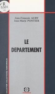 Jean-François Auby - Le département.