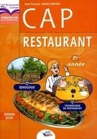 Jean-François Augez-Sartral - CAP Restaurant - Version élève.