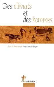Jean-François Berger - Des climats et des hommes.
