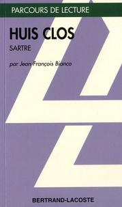 Jean-François Bianco - Huis Clos - Jean-Paul Sartre.
