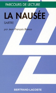 """Jean-François Bianco - """"La nausée"""", Jean-Paul Sartre."""