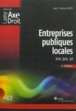 Jean-François Bizet - Entreprises publiques locales - SEM, SPLA, SPL.