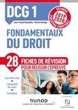 Jean-François Bocquillon et Martine Mariage - DCG 1 Fondamentaux du droit - Fiches de révision - Réforme Expertise comptable 2019-2020.