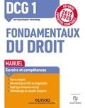 Jean-François Bocquillon et Martine Mariage - DCG 1 Fondamentaux du droit - Manuel - Réforme Expertise comptable 2019-2020.