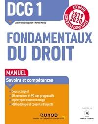 Jean-François Bocquillon et Martine Mariage - DCG 1 , Fondamentaux du droit.