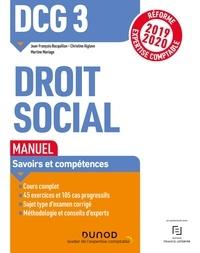 Livres électroniques Bibliothèques en ligne Livres gratuits DCG 3 Droit social - Manuel  9782100797875 (French Edition)