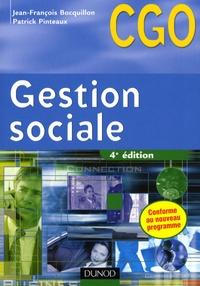 Jean-François Bocquillon - Gestion sociale - Processus 2 : Gestion des relations avec les salariés et les organismes sociaux.