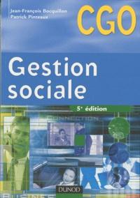 Jean-François Bocquillon et Patrick Pinteaux - Gestion sociale - Processus 2.