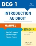 Jean-François Bocquillon et Martine Mariage - Introduction au droit DCG 1 - Manuel.