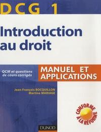 Birrascarampola.it Introduction au droit DCG1 - Manuel et applications Image