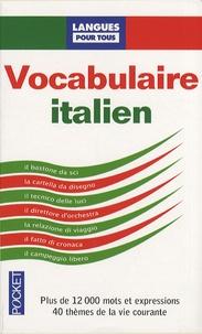 Jean-François Bonini et Jean-Ghislain Lepoivre - Le vocabulaire italien.