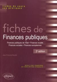 Jean-François Boudet - Fiches de finances publiques.
